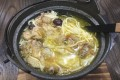 The fish maw chicken noodles dish at Wyji restaurant in Wan Chai, Hong Kong. Photo: Oasis Li