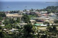 Police were on alert in Honiara on Tuesday. The Solomon Islands is the latest country to switch diplomatic allegiance from Taipei to Beijing. Photo: AP