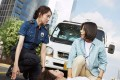 Lee Sung-kyung (left) and Ra Mi-ran are a couple of mismatched cops in Miss & Mrs. Cops. (category: IIB, Korean), directed by Jung Da-won.