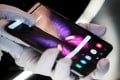 Samsung has high expectations for its Galaxy Fold 5G smartphone seen being presented at the IFA consumer tech fair in Berlin, Germany on September 6. Photo: Reuters