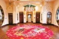 The phoenix carpet designed by Elaine Ng that graces the entrance of Haw Par Mansion in Tai Hang, and features in the Heritage is Innovation exhibition.