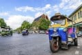 Traditional tuk tuks (pictured) are a key local transport mode in Bangkok. Source: Asia Transpacific Journeys
