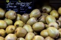 Most people assume the kiwi fruit comes from New Zealand because of its name, but it originated in China and is now flourishing in Italy. Photo: AFP