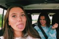 The rise of the VSCO girl – a trend where teens don mom jeans and crop tops – has annoyed internet trolls. Photo: Hannah Meloche/YouTube