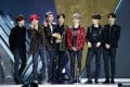 K-pop group BTS receive the Album of the Year at last year's awards. Photo: MAMA