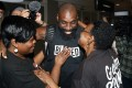 Wendell Brown hugs relatives after his arrival at the Detroit Metropolitan Airport. Photo: AP