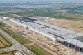 Tesla's under construction Gigafactory in Lingang, Shanghai. Two of the Palo Alto, California-based carmaker's suppliers are among companies that have signed up to invest in the free-trade zone. Photo: Imaginechina