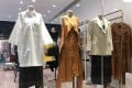 Clothing displays at Vein, a boutique in Causeway Bay that stocks independent fashion brands from Scandinavia.