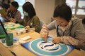 """Patients experience """"mandala"""" art therapy, as part of the Hong Kong Cancer Fund's wellness programme. Photo: Hong Kong Cancer Fund"""
