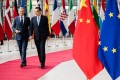The demands of a trade war with the US have left Chinese officials with little time for the European Union. Photo: Bloomberg