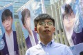Joshua Wong will run for election to Southern District Council. Photo: K.Y. Cheng