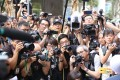 Photographers record a protest outside the British consulate in Hong Kong. Journalists have been working long hours covering the unrest in the city. Photo: Rachel Cheung
