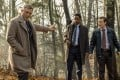 (From left) Daniel Craig, LaKeith Stanfield and Noah Segan in a scene from Knives Out directed by Rian Johnson (category: TBC). It also stars Chris Evans, Ana de Armas and Jamie Lee Curtis. Photo: Claire Folger