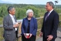 European Central Bank President Mario Draghi (right) chats to then-US Federal Reserve chair Janet Yellen and Bank of Japan Governor Haruhiko Kuroda in August 2017, in Jackson Hole, Wyoming. Policy harmonisation between major economies would be ideal, but in the meantime there's much Europe can do on its own to stimulate its economy. Photo: Kyodo