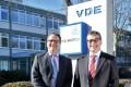 (From left) Sven Öhrke, managing director of VDEGS, and Wolfgang Niedziella, managing director of VDE Testing and Certification Institute