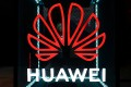 The Huawei logo is pictured at the IFA consumer tech fair in Berlin, Germany, September 5, 2019. Photo: Reuters