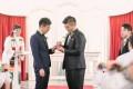 Henry Li (left) and Edgar Hon got married in London in 2017. Photo: Handout