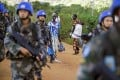 Chinese peacekeepers pictured on patrol in the South Sudanese capital Juba in 2016. Photo: AFP