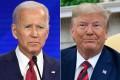 Democratic presidential hopeful Joe Biden and US President Donald Trump, both pictured last month. Photos: AFP