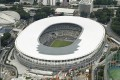 Japan's New National Stadium in Tokyo, the main venue for the 2020 Summer Olympics and Paralympics. Photo: Kyodo