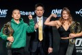 Xiong Jingnan (left) is set to challenge for Angela Lee's atomweight title in Tokyo. Photos: One Championship