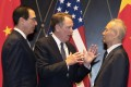 Vice-Premier Liu He is leading China's delegation to resume trade talks with US trade representative Robert Lighthizer (middle) and US Treasury Secretary Steven Mnuchin on Thursday and Friday in Washington. Photo: AP