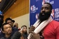 James Harden appears more than ready to move on from the NBA's crisis with China. Photo: AFP