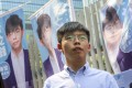 Pro democracy activist and South Horizons Community Organiser Joshua Wong is running for the 2019 District Council elections. Photo: K. Y. Cheng
