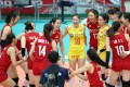 China's women's volleyball team are again winners with their triumph at the World Cup in Osaka, Japan, last month. Photo: Xinhua
