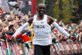 Kenya's Eliud Kipchoge explained his sub-two-hour marathon effort as an attempt to inspire people and tell them no human is limited. Photo: Reuters