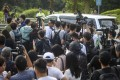 The press pack was out in force for Chan Tong-Kai's release from prison. Photo: Winson Wong