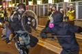 The protests in Hong Kong have become increasingly violent. Photo: Sam Tsang