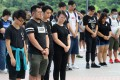 A memorial service at the Education University of Hong Kong in Tai Po on July 6 for two students whose suicides have been linked to the now-withdrawn extradition bill. Photo: Edmond So