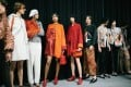 Emporio Armani joins Louis Vuitton, Chanel, Alexander McQueen and more in offering pantsuits on the runway this autumn.
