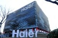 Chinese home appliance maker Haier's headquarters in Qingdao, eastern China, in 2014. Casarte is a successful premium brand under Haier. Photo: AP