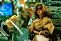 Brigitte Lin in one of her most iconic roles, as a wig-wearing drug trafficker in Wong Kar-wai's gritty city portrait Chungking Express, from 1994. She would retire from the screen soon afterwards.