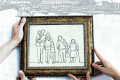 Singapore's Sandwich Generation are discovering the drawback to being the world's longest-living people, spending hard-earned retirements caring not only for children and grandchildren, but for parents, too. Illustration: SCMP