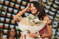 Priya Serrao, the first Indian-born Miss Universe Australia, says she still pinches herself after her surprise win this year.