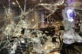 A mainland-linked restaurant in Tsim Sha Tsui is one of many businesses to suffer vandalism during the months-long protests in Hong Kong. Photo: Edmond So