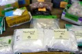 A shipment of fentanyl intercepted by US customs officers at Chicago's O'Hare airport. Photo: Reuters