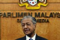 Malaysian Prime Minister Mahathir Mohamad speaks at a press conference after attending a parliament session in Kuala Lumpur on October 7. Photo: Nur Ain Shafinas/BERNAMA/dpa