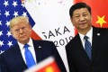 Chinese President Xi Jinping (right) and US President Donald Trump attend a bilateral meeting on the sidelines of the G20 Summit in Osaka, Japan, on June 29. Photo: AFP