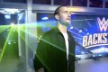 CM Punk enters the 'WWE Backstage' studio. Photo: WWE on Fox