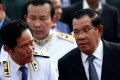 Cambodia's Prime Minister Hun Sen attends the annual Water Festival on the Tonle Sap river in Phnom Penh. Photo: Reuters