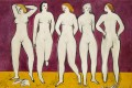Christie's will auction Five Nudes, by Sanyu, at its evening sale of 20th century and contemporary art on November 23.