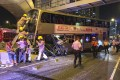 More than 30 people have been injured in a bus accident in Hong Kong. Photo: Facebook