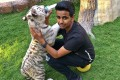 Emirati rich kid Rashed Saif Belhasa has it all – supercars, a million dollar trainer collection, and tigers to play with.