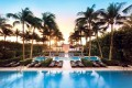 The pool area at The Setai in Miami Beach, Florida. Photo: Handout