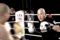 Tian Ye (right) winds up a punch against Lei Lei. Photos: YouTube/Fight Commentary Breakdowns