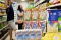 Vitasoy products on the shelves of a Hong Kong supermarket. Photo: Winson Wong